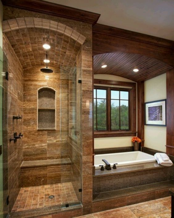 luxurious master bathroom ideas