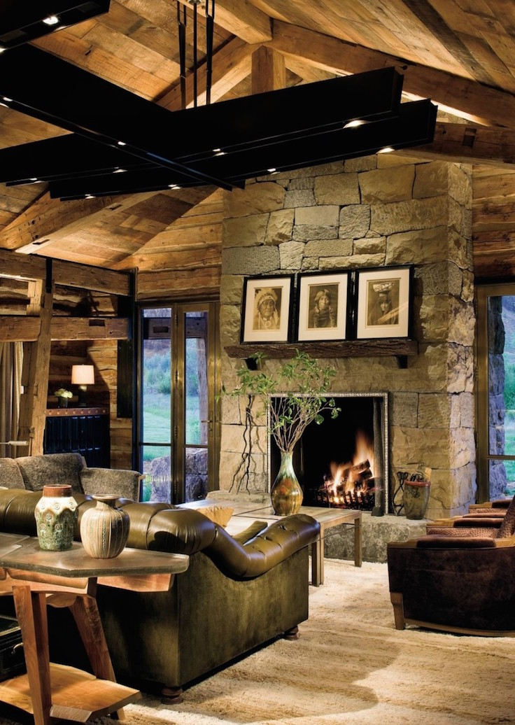 23 Living Room Designs With Vaulted Ceiling To Get