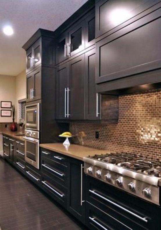 33 Amazing Black Kitchen Design Ideas To Rock | Interior God