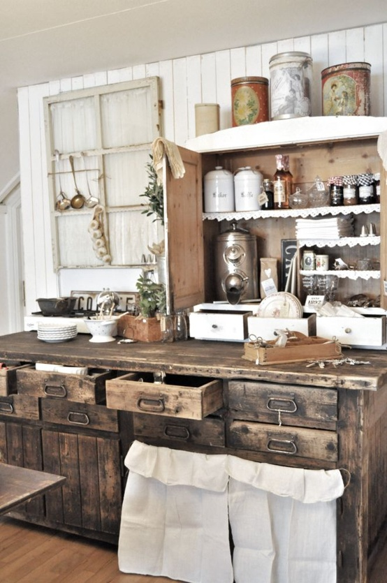 rustic farmhouse kitchen ideas