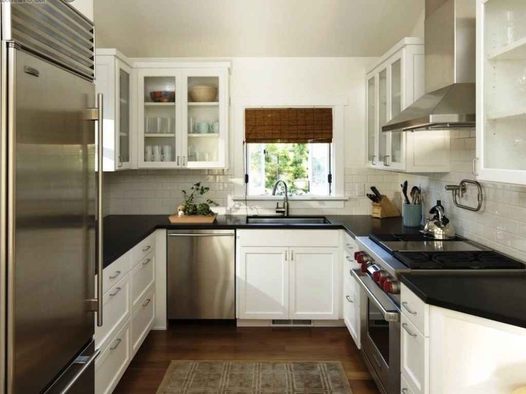 17 contemporary u shaped kitchen design ideas interior god for Kitchen kitchen design
